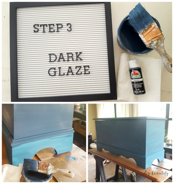 how to darken glaze