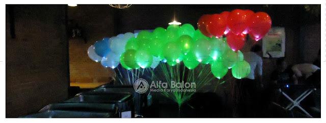 Balon Gas Banner | Balon Gas Pelepasan