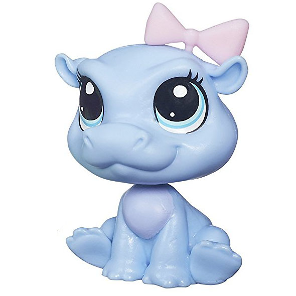 Littlest Pet Shop Hippo LPS Sunshine Kiboko Pe...