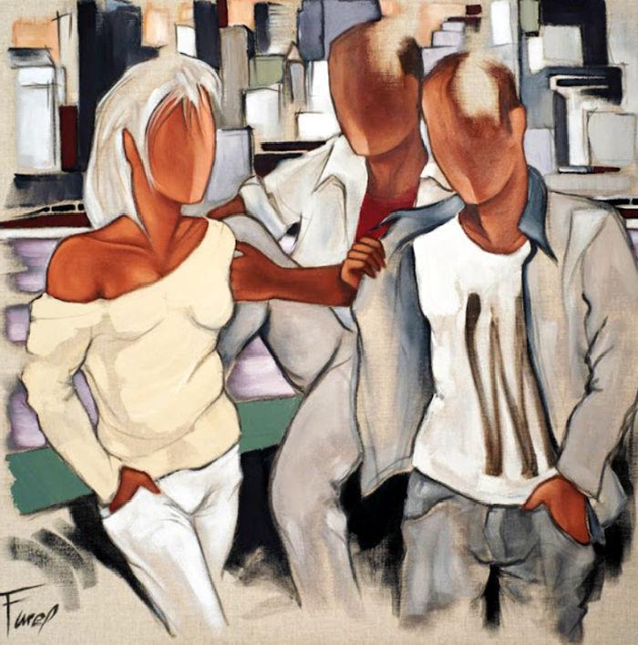 Современные художники Франции. Pierre Farel 9