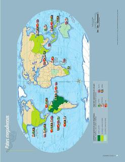 Apoyo Primaria Atlas de Geografía del Mundo 5to. Grado Capítulo 2 Lección 4 Países Megadiversos