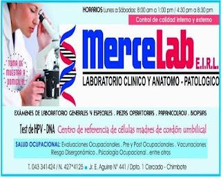 MerceLab – Laboratorio Clínico y Anátomo Patológico
