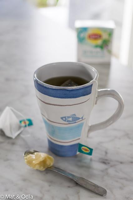 te vid förkylning
