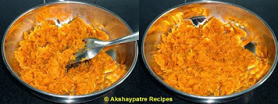 cook the pumpkin mixture to make filling