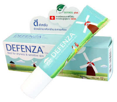 Defenza cream ครีมสำหรับผิวแพ้ง่าย ติดสเตียรอยด์