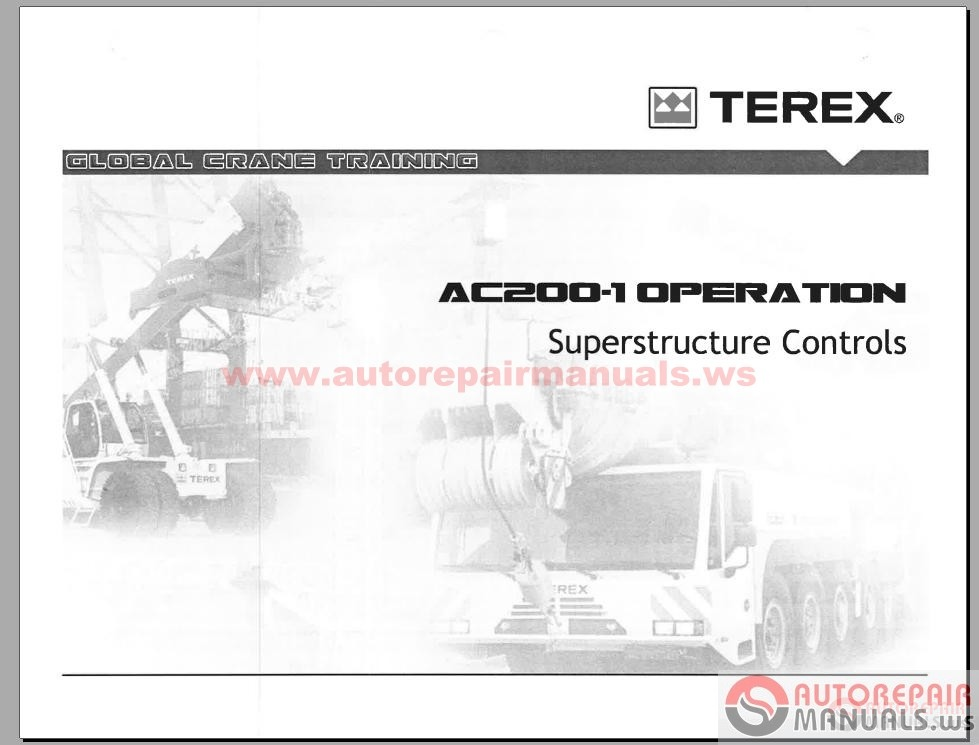auto repair manual terex crane shop manual parts manual terex demag cc2800 crawler crane transport example for cc 2800 1 terex demag cc2800 1 crawler crane operation manual