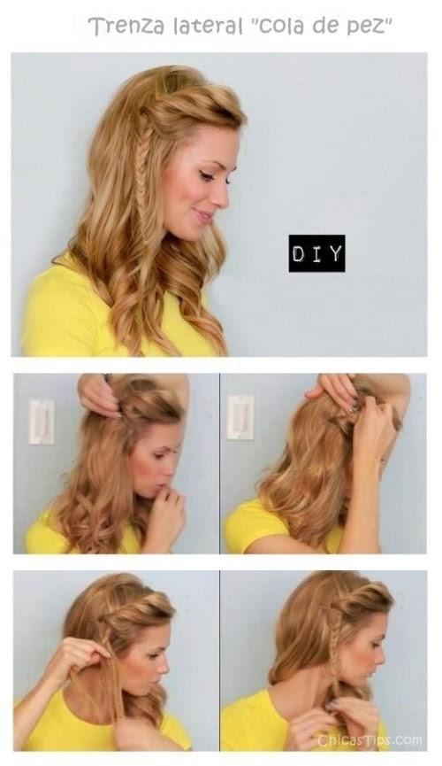 Peinados Para Cabello Rizado Trucos De Belleza Radiante Maquillaje Manicuras Y Peinados