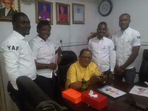 Youth Awareness Forum honours Very. Rev. Msrg. Prof. John Bosco Akam