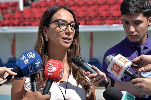 Cecilia Pérez, ministra del Deporte