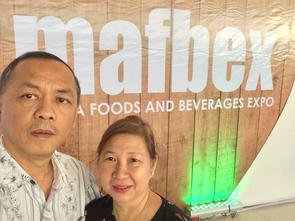 President Rodrigo Duterte's spokesperson Peter Laviña and wife Evelyn.