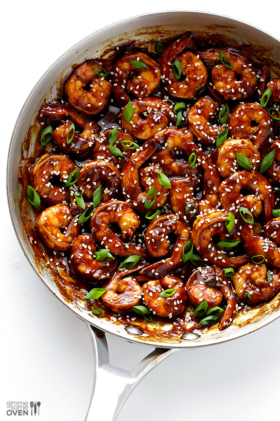 THE BEST EASY HOISIN SHRIMP RECIPE