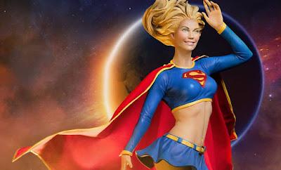 Qui per voi Supergirl della Sideshow - Premium Format
