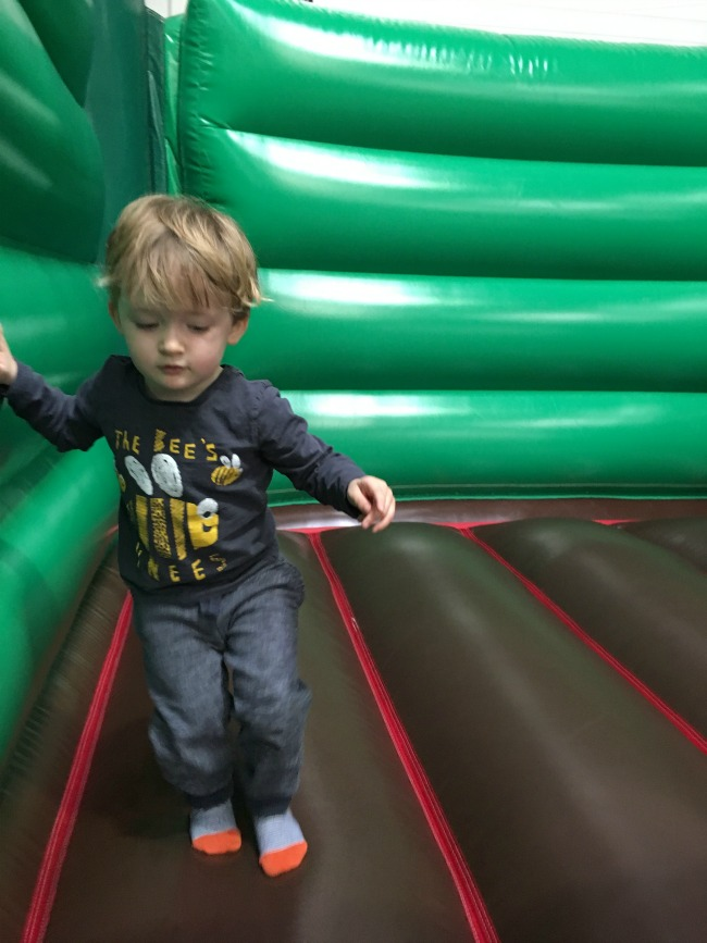 Our-Weekly-Journal-13th-March-2017-toddler-on-bouncy-castle