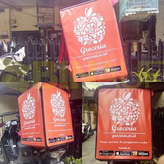 Tas delivery box makanan Surabaya Groceria