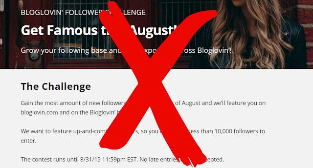 Bloglovin Challenge