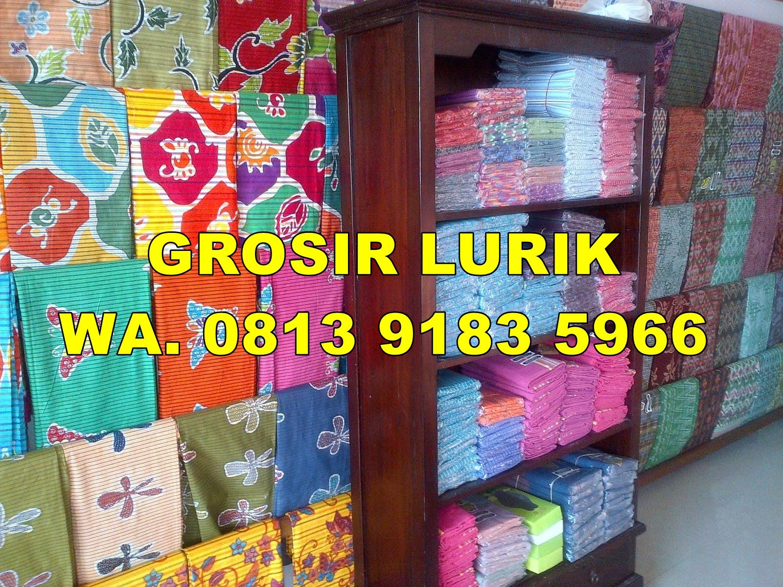 Grosir Batik Solo  081391835966