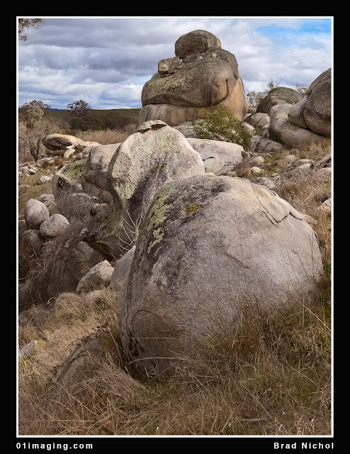 Pejar Creek NSW Landscape, Rocks and Boulders crop 4