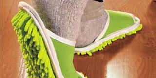 Sandal Pembersih Lantai Otomatis