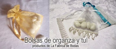 recuerdos bolsa de organza con flequillos perlas con 5 almendras guatemala