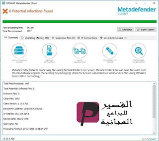 Metadefender Cloud Client