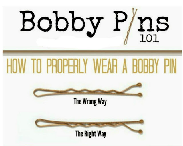 How to properly use a bobby pin by barbie's beauty bits