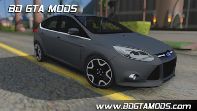 Ford Focus 2016 para GTA San Andreas, GTA SA