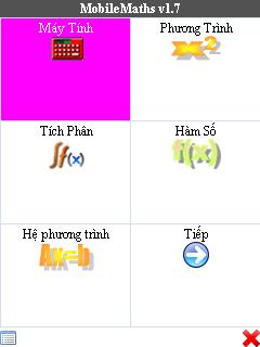Tính năng của mobile maths