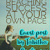 Reaching Success at Your Own Pace - Guest Post by Tabitha Caplinger