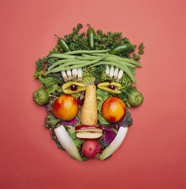 Amazing Art With Vegetables