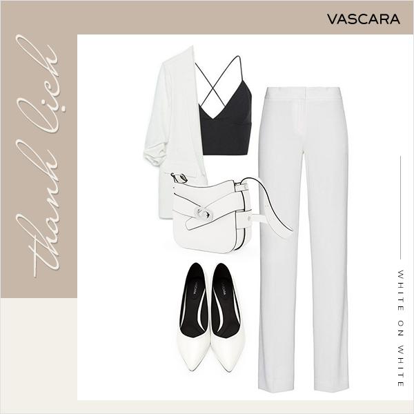 White-on-white chính thức quay lại làm trend hè này, bạn đã chuẩn bị chưa?