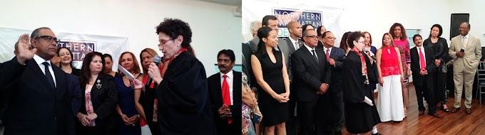 Vargas juramenta como nuevo presidente del Club Demócratas por un Cambio en el Norte de Manhattan