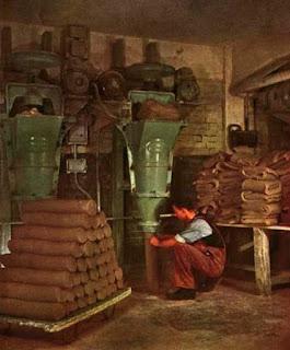 Vertical pug mill. Wedgwood 1960s