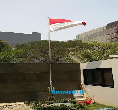 Harga Tiang Bendera Halaman Rumah  Ideal Tiang Bendera Halaman Rumah