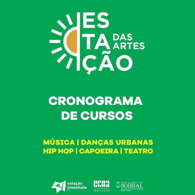 Estação das Artes | Inscrições abertas para cursos gratuitos de música, hip hop, danças urbanas, teatro e capoeira