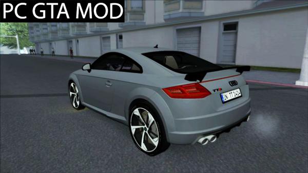 Free Download 2017 Audi TTS Matrix Mod for GTA San Andreas.