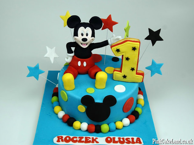 Mickey Mouse Cakes London
