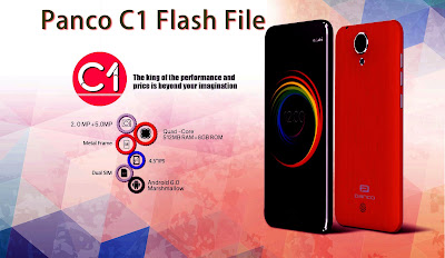 Panco C10 Official Stock Firmware Flash File whitout pasword - GSM