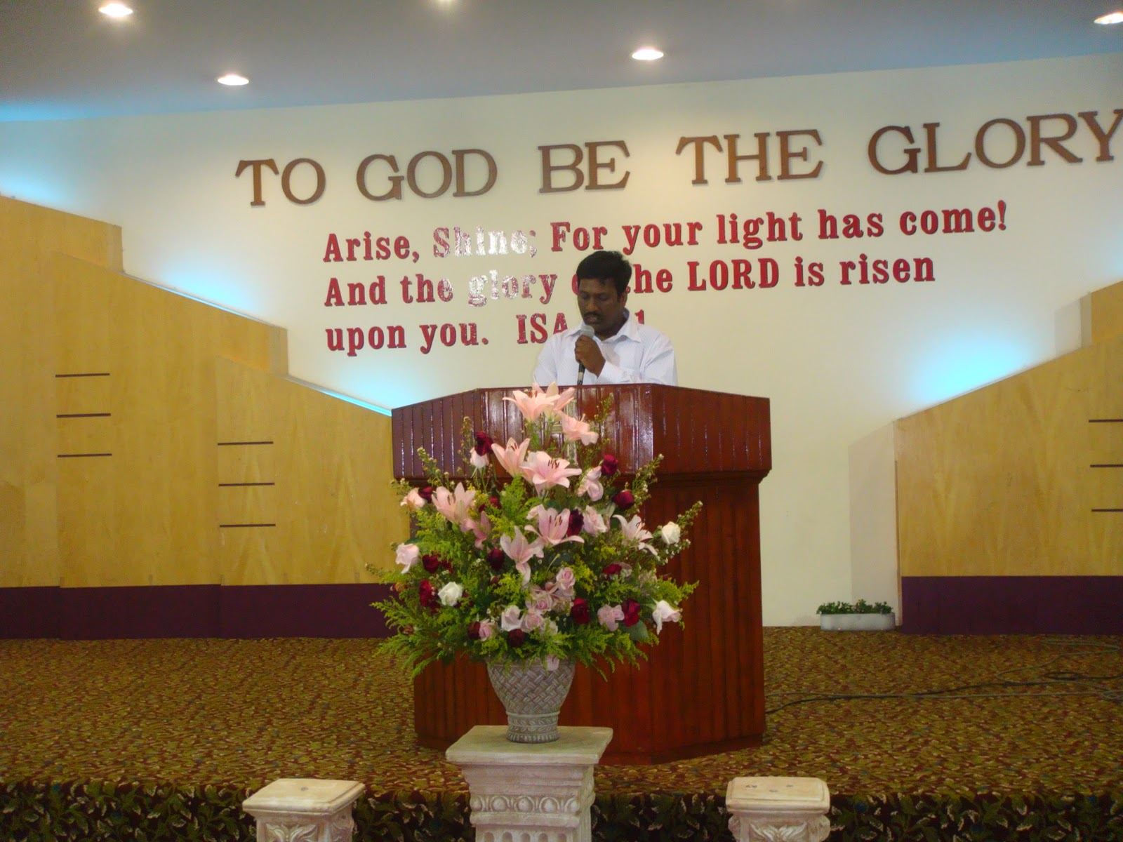 BIBLE MISSION SINGAPORE: BRO JAYAPAUL MEETINGS - AUG 2011