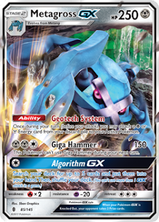 Metagross GX Guardians Rising Pokemon Card