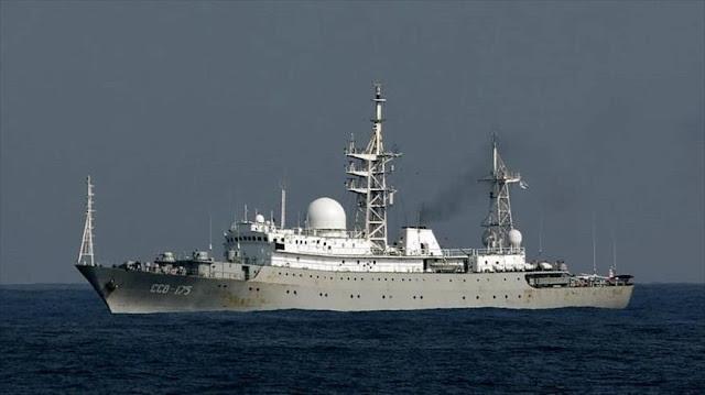 Fox News: Detectan una nave espía de Rusia cerca de EEUU