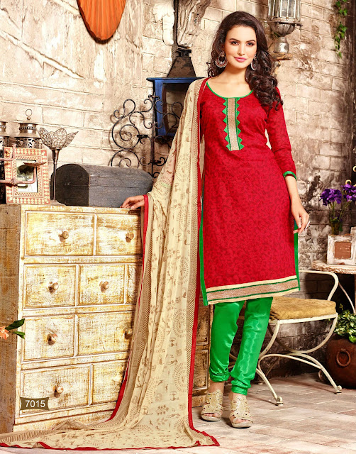 Latest Canderi Suits 2015