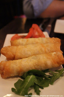 Phyllo Rolls stuffed with Feta Cheese, Parsley at Balzem