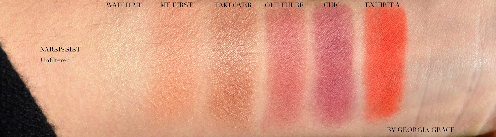 NARSissist Unfiltered Cheek Palette I  by NARS #17