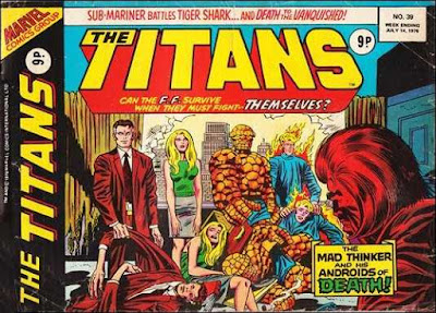 Marvel UK, The Titanss #39, The Mad Thinker