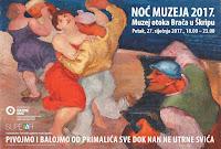 Noć muzeja, Škrip slike otok Brač Online