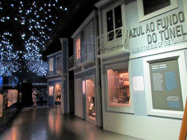 representação das casas do Porto no Museu do FC Porto