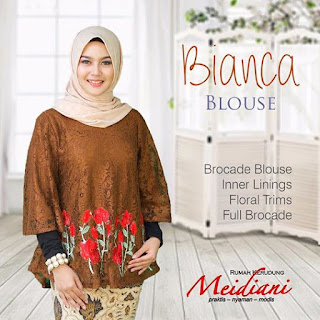 BIANCA BROCADE BLOUSE