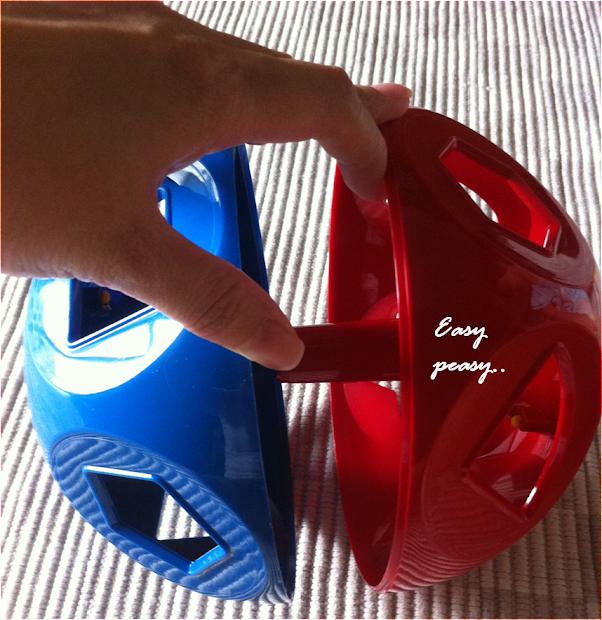 Zchicchick Tupperware Shape-toy