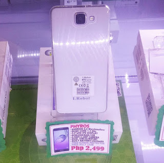 I.Robot Phyros; Quad Core, 1GB RAM, 8GB ROM, 8MP Camera for Php2,499