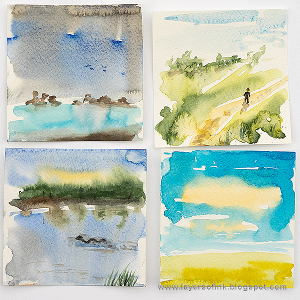 Watercolor Mini Panels